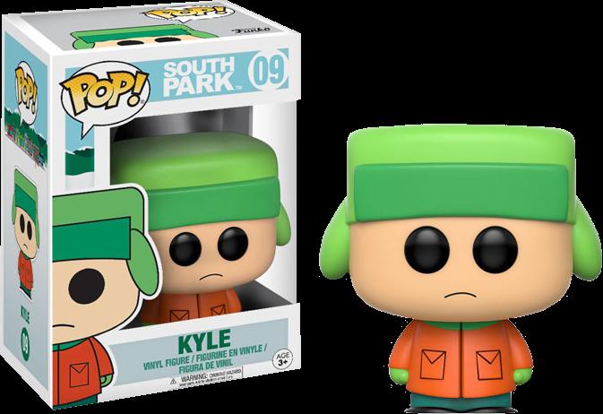 PRE-ORDER South Park - Kyle Pop! Vinyl Figure