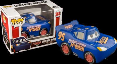 Cars 3 - Lightning McQueen Blue Pop! Exclusive Vinyl Figure
