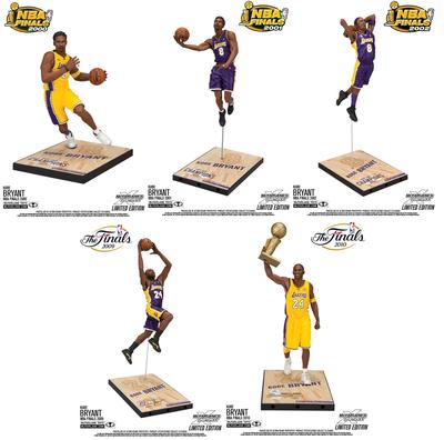 NBA Kobe Bryant NBA Finals Set of 5