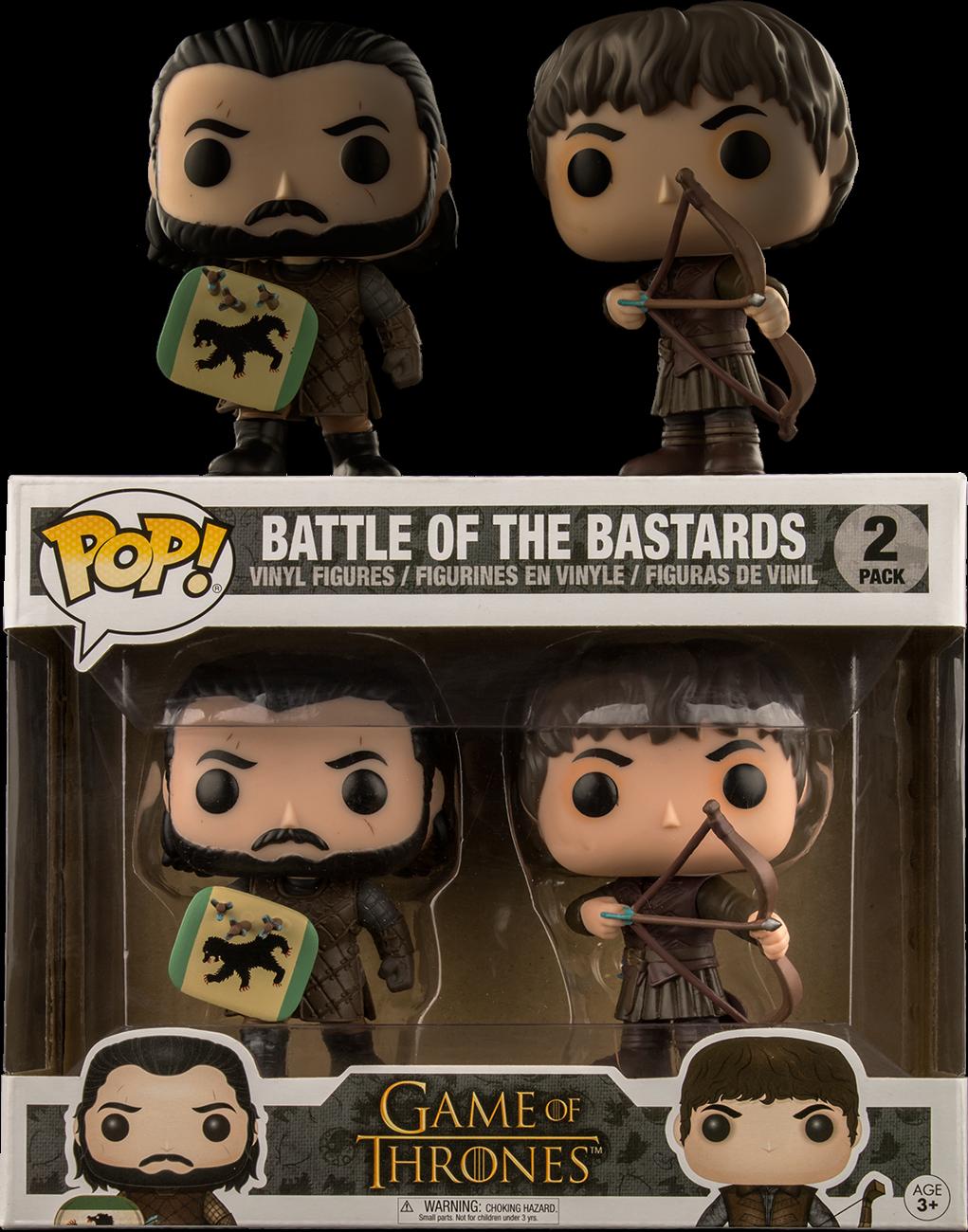 Game of Thrones - Battle of the Bastards Pop! Vinyl Figure 2-Pack