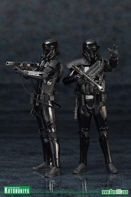 Star Wars Death Trooper Two Pack ArtFX+ Statues