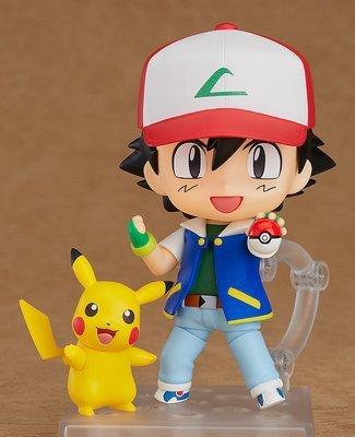 Pokemon Nendoroid Ash with Pikachu
