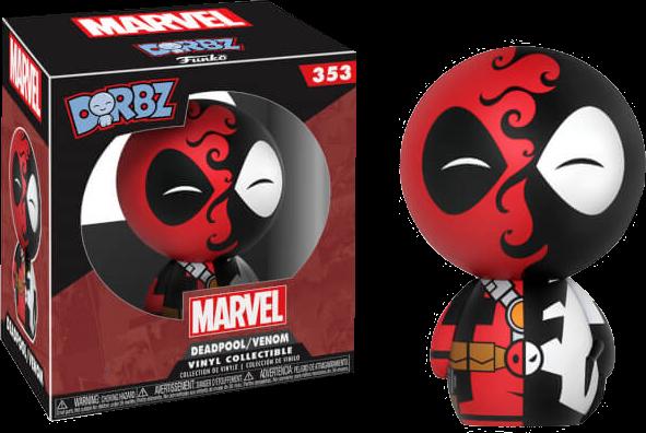 PRE-ORDER Deadpool - Deadpool / Venom Exclusive Dorbz