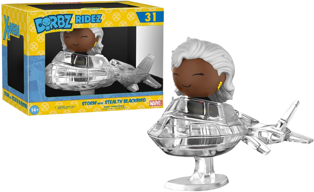 X-Men - Storm with Stealth Blackbird Dorbz Ridez Vinyl Figure