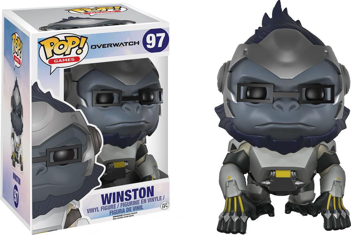 """Overwatch - Winston 6"""" Pop! Vinyl"""