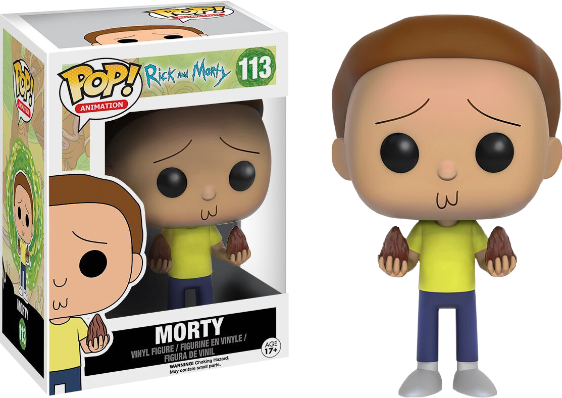 PRE-ORDER Rick and Morty - Morty Pop! Vinyl Figure