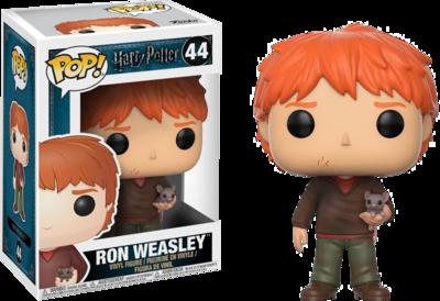 Harry Potter - Ron with Scabbers Pop! Vinyl Figure