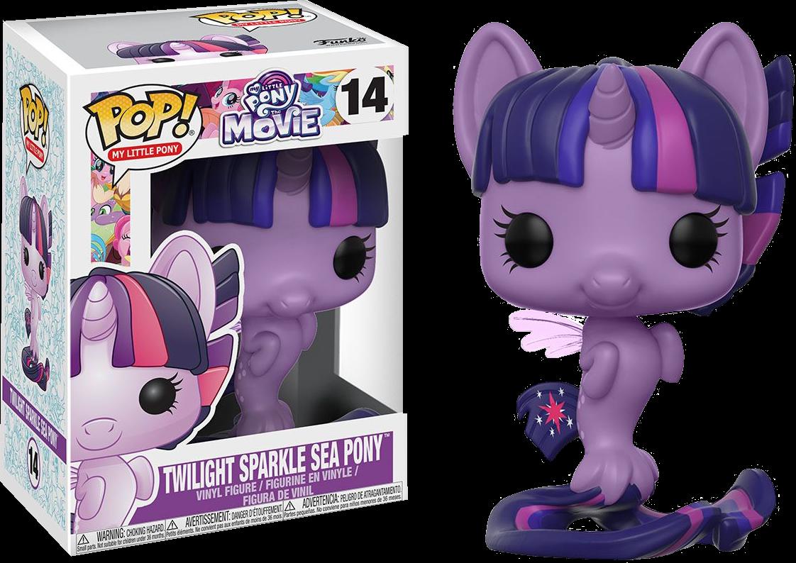 PRE-ORDER My Little Pony Movie - Twilight Sparkle Sea Pony Pop! Vinyl Figure