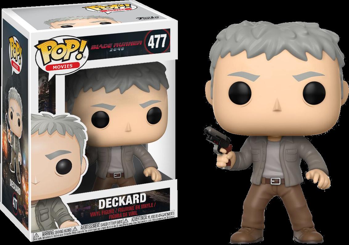 Blade Runner: 2049 - Deckard Pop! Vinyl Figure