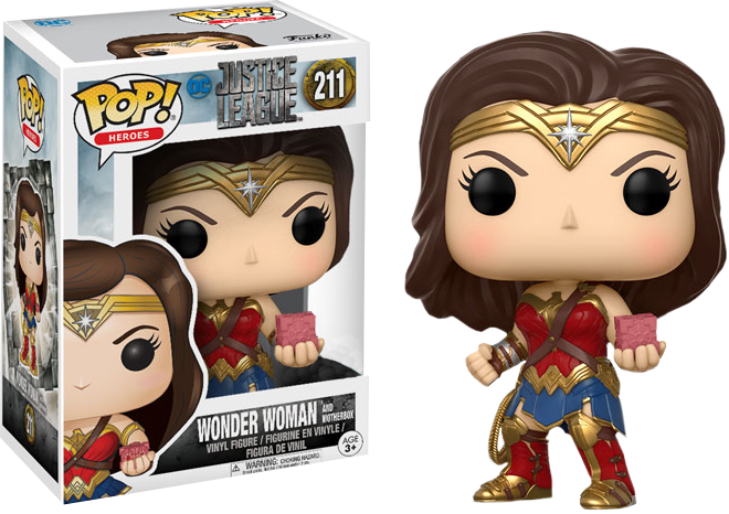 PRE-ORDER Justice League Movie - Wonder Woman and Mother Box Exclusive Pop! Vinyl