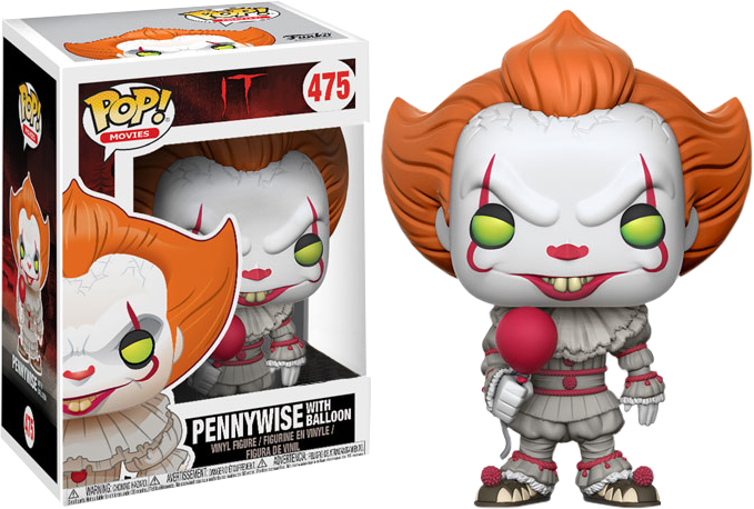 PRE-ORDER It 2017 - Pennywise with Balloon Exclusive Pop! Vinyl