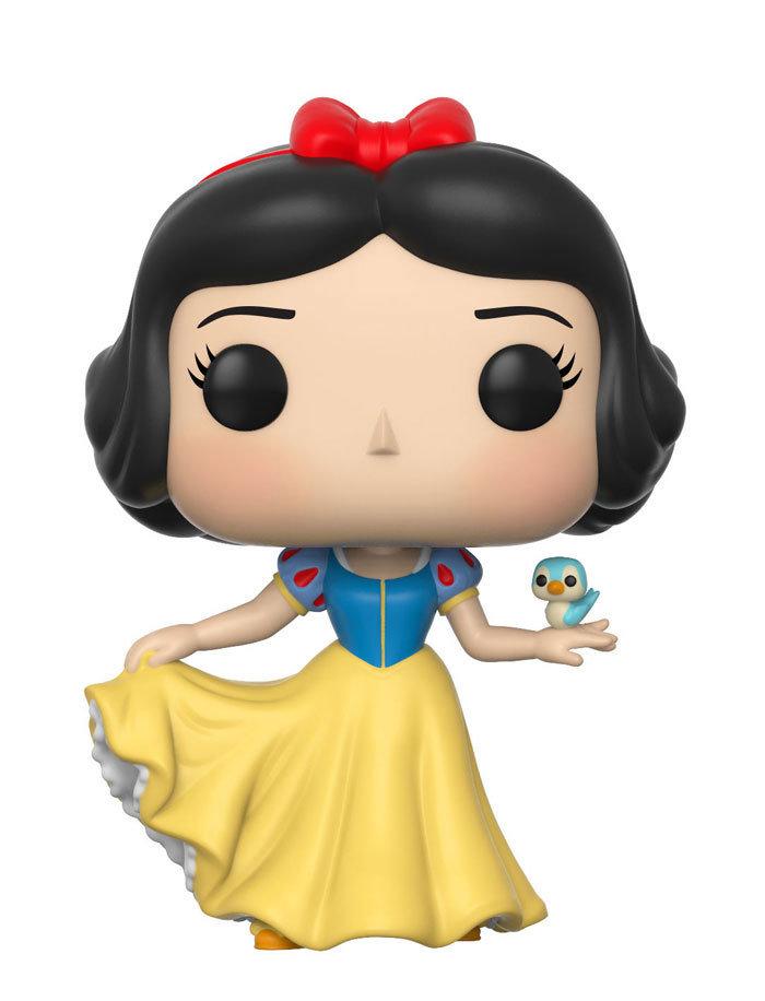Snow White and the Seven Dwarfs Snow White With Bird Pop! Vinyl Figure