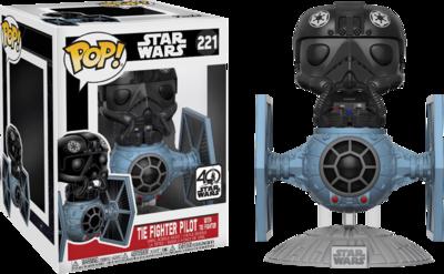 Star Wars - TIE Fighter Pilot with TIE Fighter Deluxe Pop! Vinyl Figure