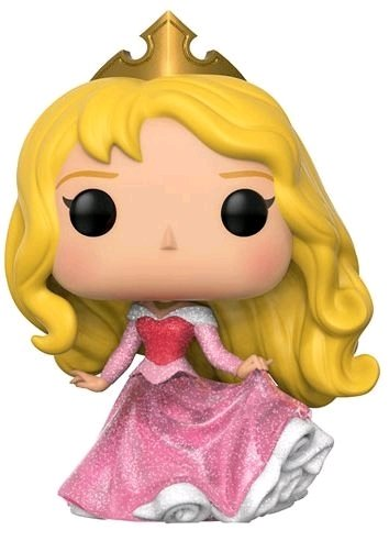 PRE-ORDER Sleeping Beauty - Aurora Glitter Pop! Vinyl Figure