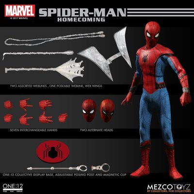 PRE-ORDER One:12 Collective Spider-Man: Homecoming