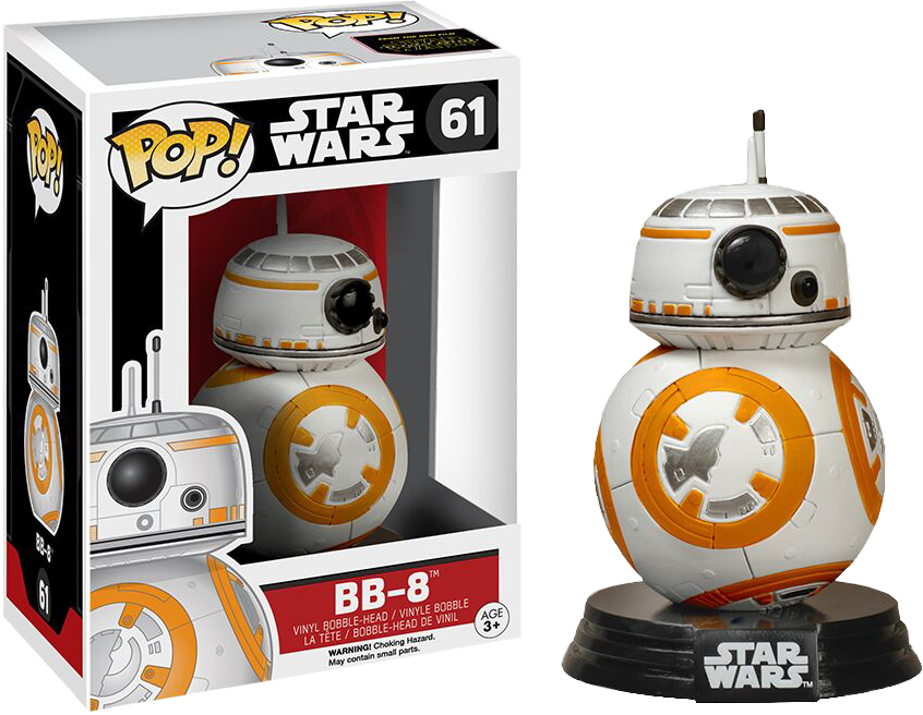 Star Wars Episode VII: The Force Awakens - BB-8 Pop! Vinyl Figure
