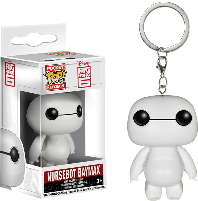 PRE-ORDER Big Hero Six - Nursebot Baymax Pocket Pop! Keychain