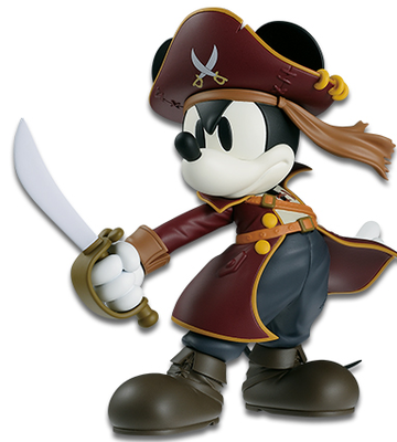 Disney Characters DXF Mickey Mouse Pirate Style Regular