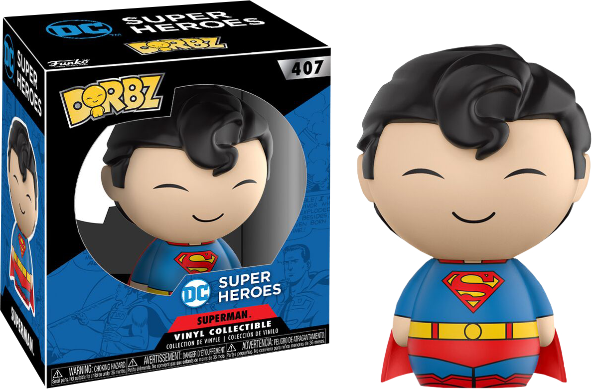 DC Comics - Superman Dorbz Vinyl Figure