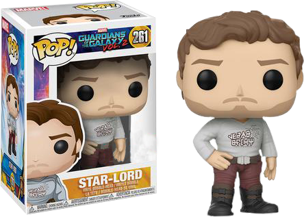 PRE-ORDER Guardians of the Galaxy: Vol 2 - Star-Lord with Gear Shift Shirt Pop! Vinyl Figure
