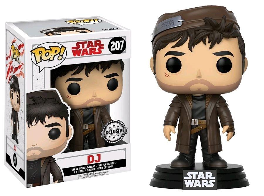 PRE-ORDER Star Wars - DJ Episode VIII The Last Jedi Exclusive Pop! Vinyl
