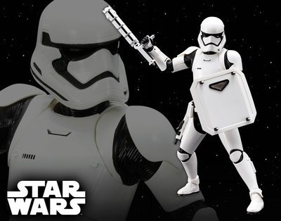 Star Wars First Order Stormtrooper FN - 2199 ArtFX+ Statue