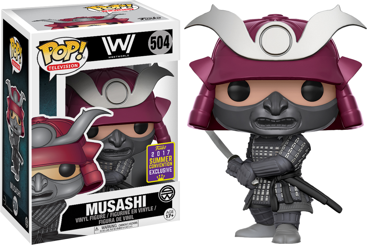 Westworld - Mushashi Pop! Vinyl Figure 2017 Summer Convention Exclusive