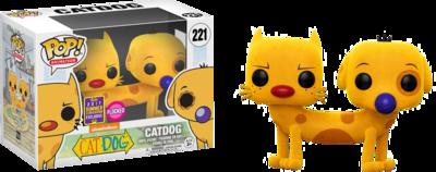 Catdog Flocked Pop! Vinyl Figure 2017 Summer Convention Exclusive