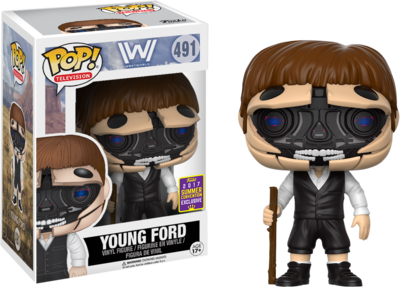 Westworld - Robotic Young Ford Pop! Vinyl Figure 2017 Summer Convention Exclusive