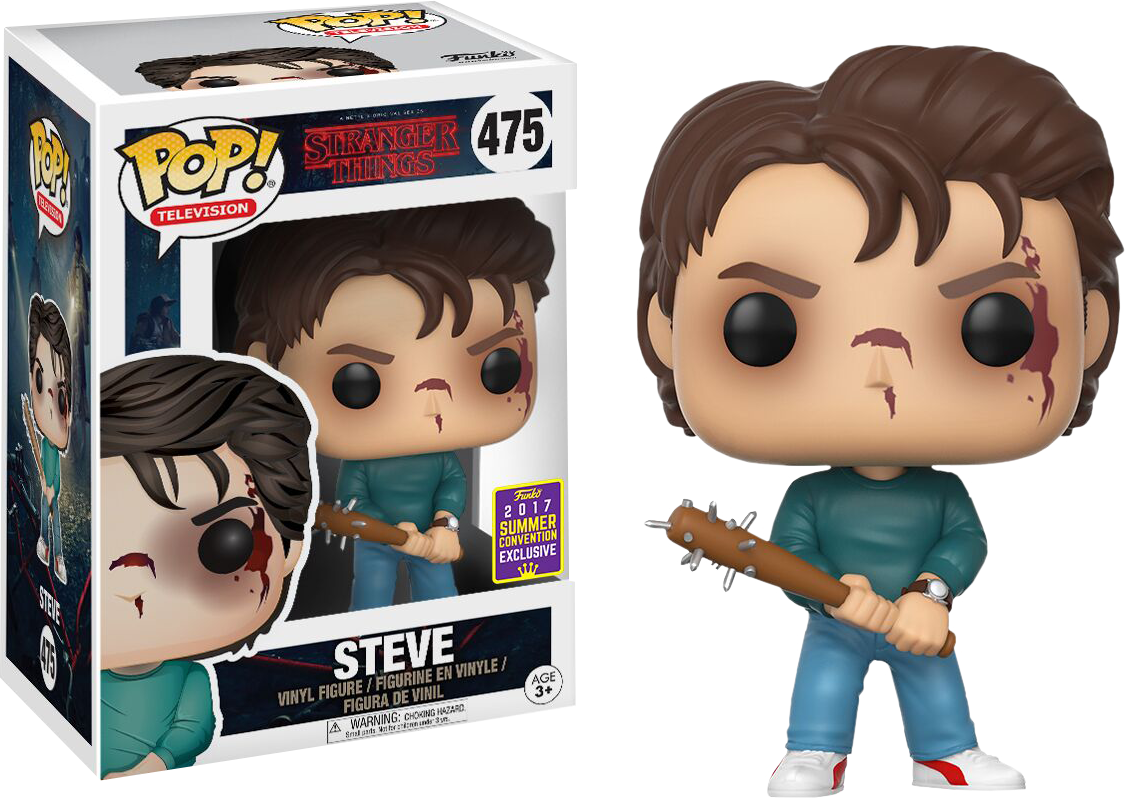 Stranger Things - Steve Pop! Vinyl Figure 2017 Summer Convention Exclusive