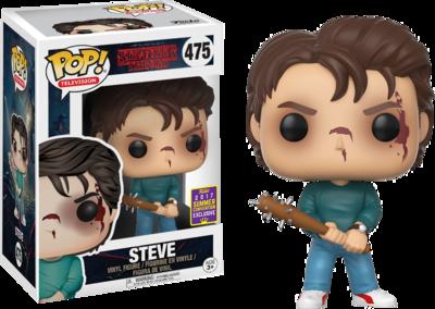 Stranger Things - Steve Pop! Vinyl Figure 2017 Summer Convention Exclusive