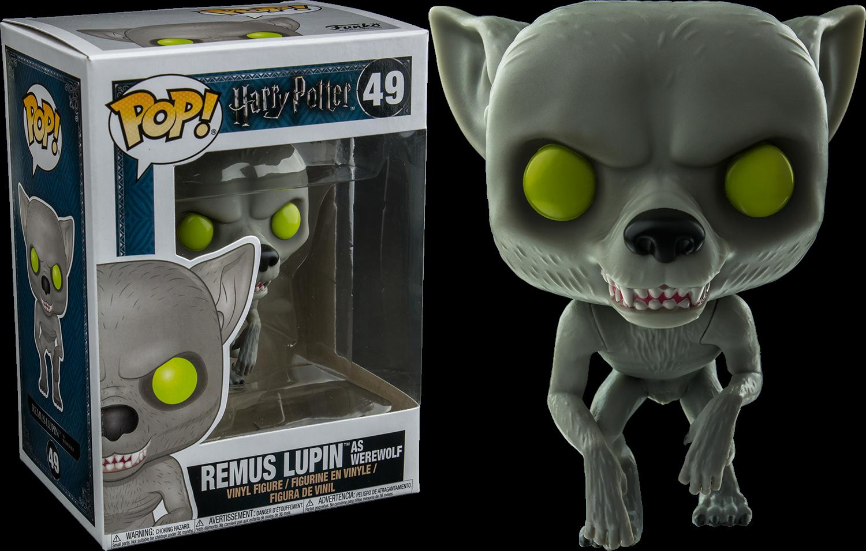 Harry Potter - Remus Lupin as Werewolf Exclusive Pop! Vinyl