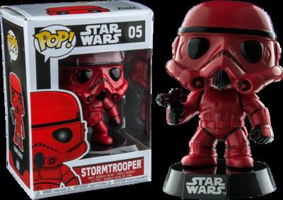 Star Wars - Red Stormtrooper Exclusive Pop! Vinyl