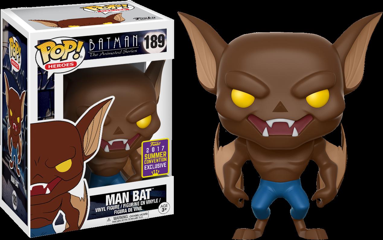 Batman: The Animated Series - Man Bat Pop! Vinyl Figure 2017 Summer Convention Exclusive