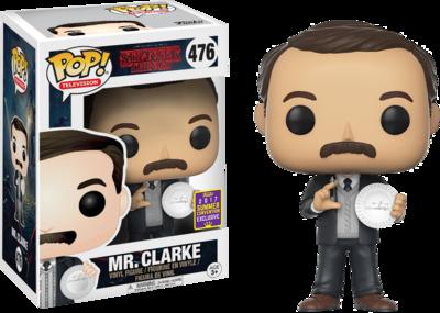 Stranger Things - Mr Clarke Pop! Vinyl Figure 2017 Summer Convention Exclusive