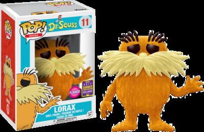 Dr. Seuss - Lorax Flocked Pop! Vinyl Figure 2017 Summer Convention Exclusive