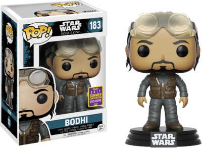 Star Wars: Rogue One - Bohdi Rook Pop! Vinyl Figure 2017 Summer Convention Exclusive