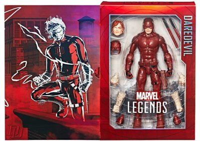 SDCC 2017 Exclusive Marvel Legends Daredevil 12″ Figure