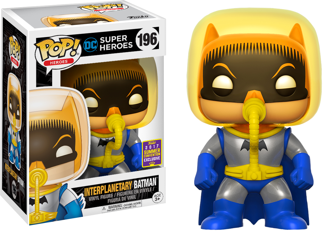Batman - Interplanetary Batman Pop! Vinyl Figure 2017 Summer Convention Exclusive)