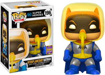 Batman - Interplanetary Batman Pop! Vinyl Figure 2017 Summer Convention Exclusive)