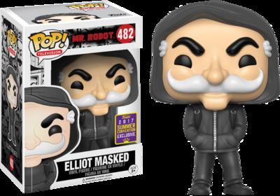 Mr Robot - Masked Elliot Alderson Pop! Vinyl Figure 2017 Summer Convention Exclusive