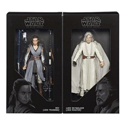 SDCC 2017 Exclusive Black Series Jedi Master Luke and Apprentice Rey 6