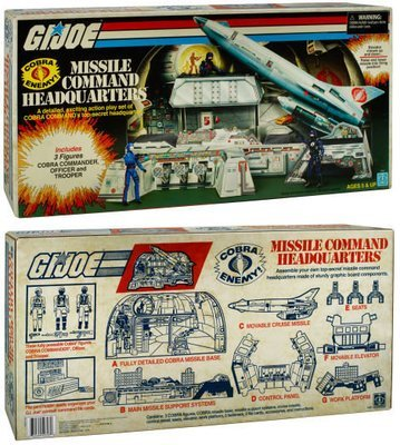 SDCC 2017 G.I.Joe Exclusive Cobra Missile Command Headquarters