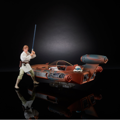 SDCC 2017 Exclusive Star Wars: The Black Series X-34 Landspeeder & 6-Inch Luke Skywalker