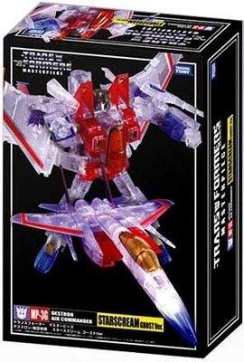 Transformers Masterpiece MP-03G Ghost Starscream Clear Version