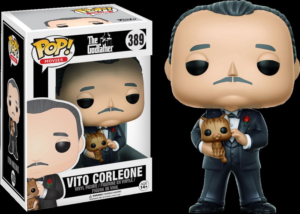 Pre-order The Godfather Vito Corleone Pop! Vinyl