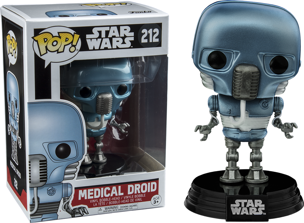PRE-ORDER Star Wars - Medical Droid Exclusive Pop! Vinyl