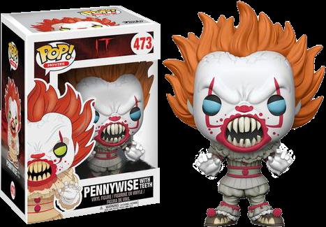 PRE-ORDER It 2017 - Pennywise with Teeth Exclusive Pop! Vinyl