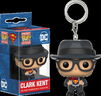 Superman - Clark Kent Pocket Pop! Vinyl Keychain