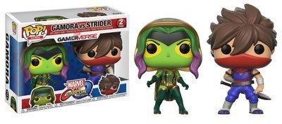 Marvel vs Capcom Gamora vs Strider 2Pack Pop! Vinyl Figure